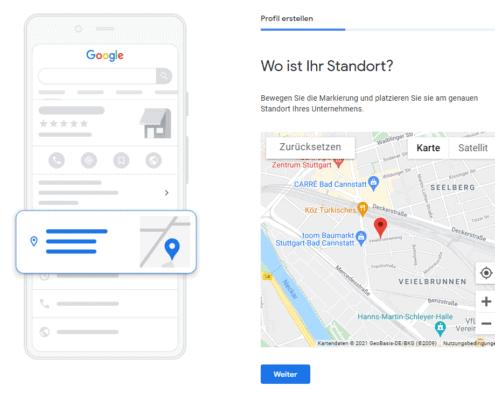 Google My Business Eintrag