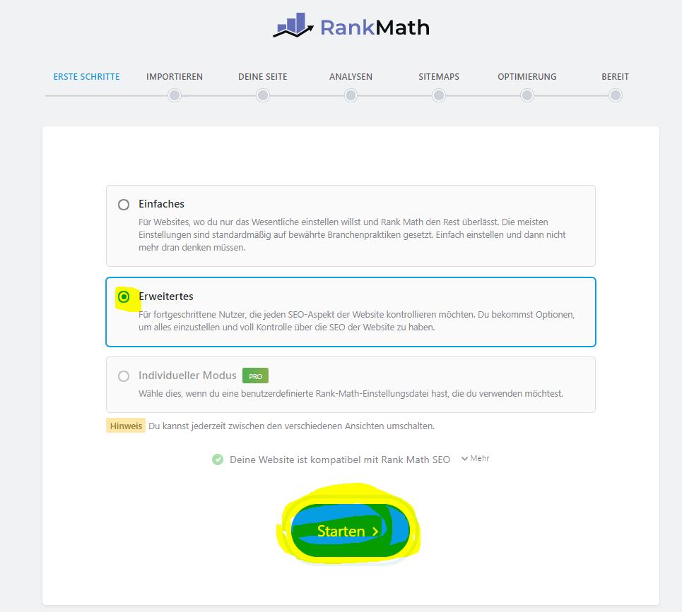 rank-math-plugin-einstellungen