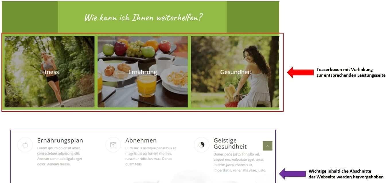 body-website-aufbau