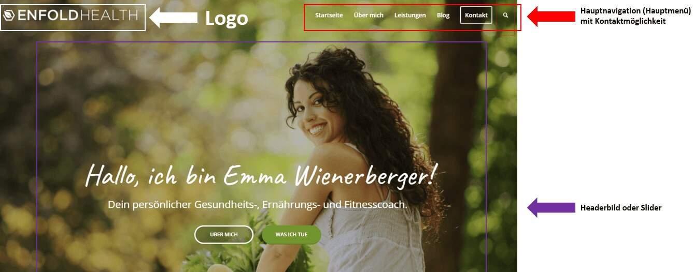 header-website-aufbau