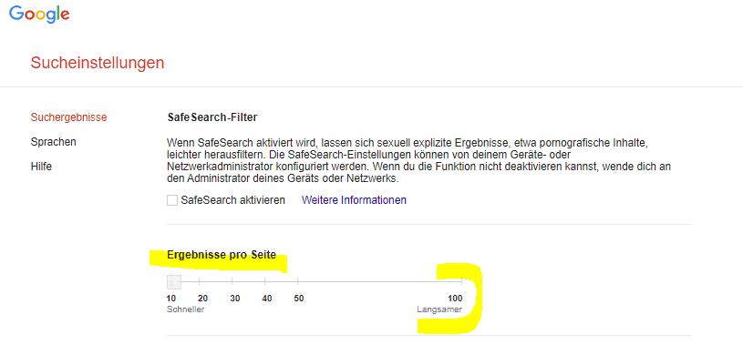 google-suche-sucheinstellungen-aendern